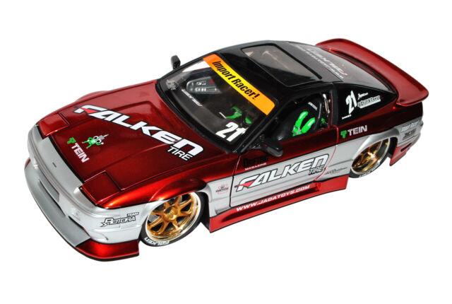 Nissan 240SX Rot Tuning 1//18 Jada Modell Auto mit oder ohne individiuellem Wun..
