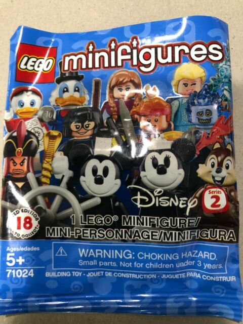 LEGO minifigures Disney series 2 (71024) character choices 9-18