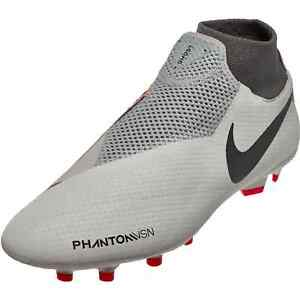 39f2c0033730 Image is loading Nike-Phantom-VSN-Pro-DF-FG-Grey-Red