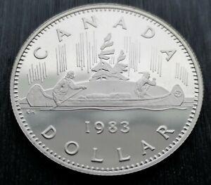 CANADA-DOLLAR-1983-PROOF-HEAVY-CAMEO