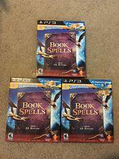 Wonderbook Book Of Spells PS3 Lot Of 3 NEW Sealed Games J.k. Rowling