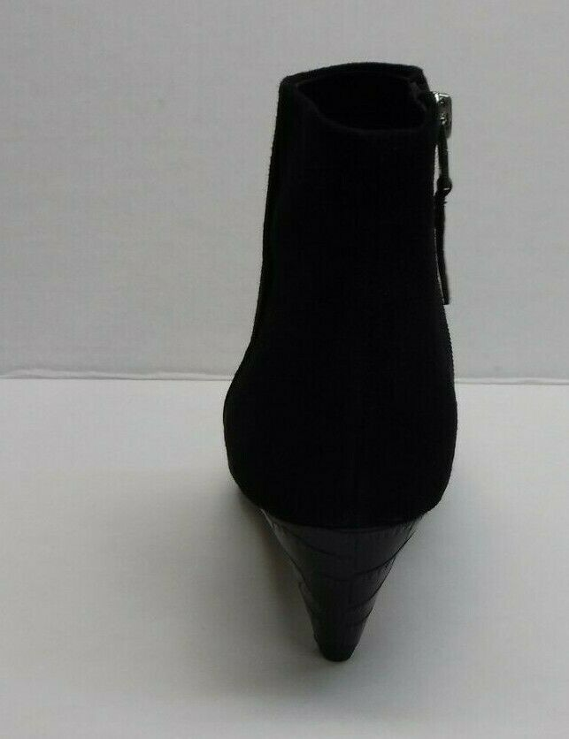 Sam Edelman Size 6.5 Black Suede Booties New Womens Womens Womens shoes ed3167