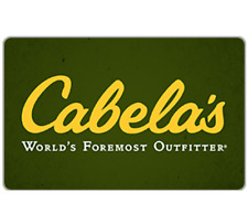 Buy a $50 Cabela's Gift Card for only $41  - Fast Email delivery