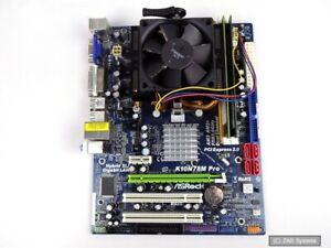 PC-Aufrustkit-ASRock-10n78m-PRO-athlon-x2-6000-actif-4-go-ddr2-ram-100-OK