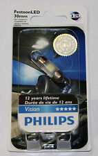 PHILIPS LED FESTOON 30MM 6000K X 1 BULB  VISION BRIGHT 6428 12818 DE3021