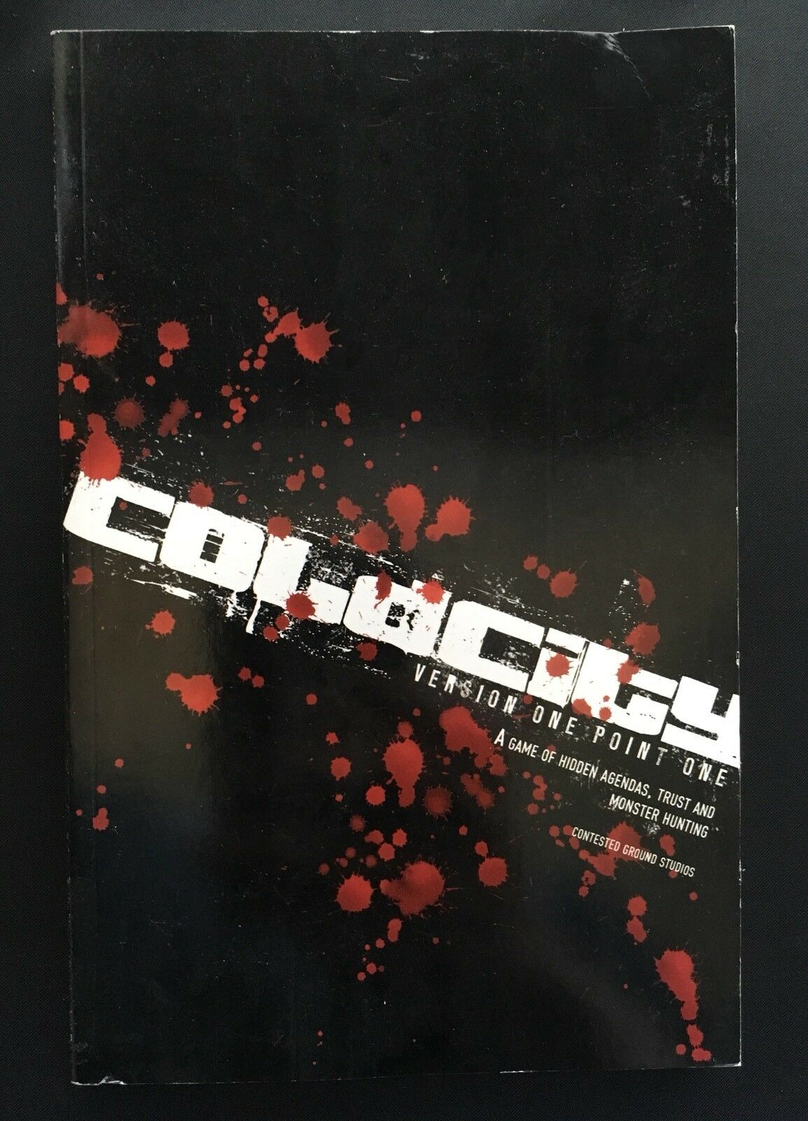 COLD CITY - Version One Point One - Contested Ground Studios - Cubicle 7 CB76500