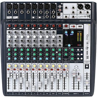 SOUNDCRAFT SIGNATURE12 FX USB Ableton Live 9 Lite Software