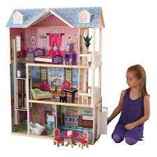 My Dreamy Dollhouse with 14-Piece Accessory Set by KidKraft