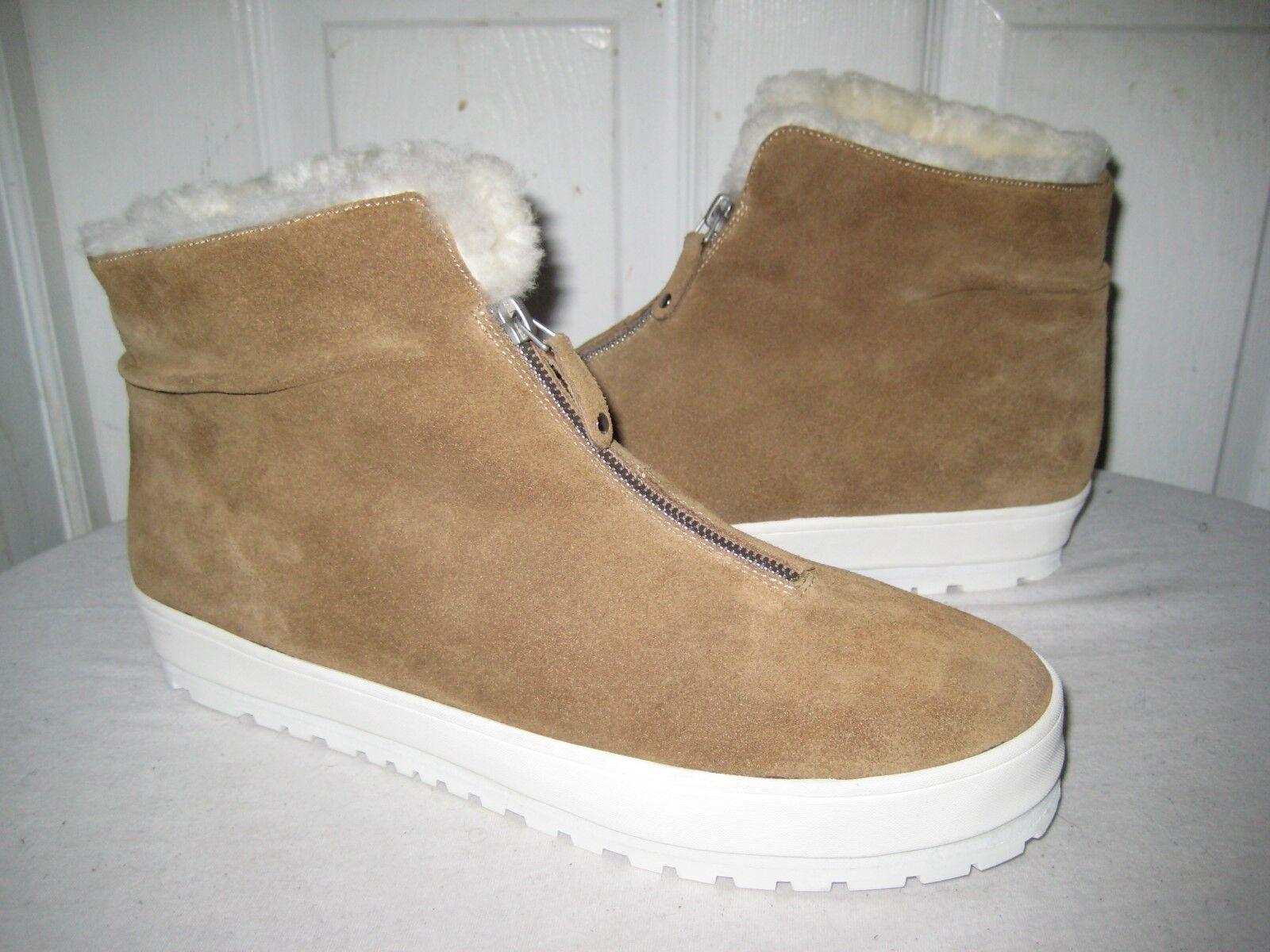 Derek Lam 10 Crosby Gamuza Piel para Invierno Botines Talla Zapatos para mujer Talla Botines 11 M 51e075
