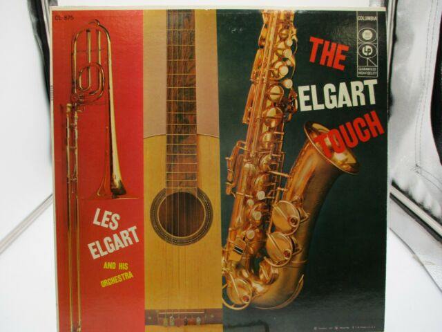 Les Elgart And His Orchestra The Elgart Touch  CL875-MONO-6 Eye LP VG++ c VG++