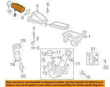 Air Intake Hose OEM 17228RDAA00 For Acura TL 2007-2008 Black 13848634