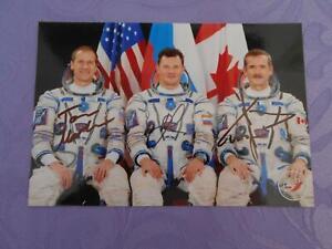 Sojus TMA-07M Crewphoto original signiert Space