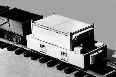 STORAGE BATTERY MINE LOCO O On30 Model Railroad Plastic Static Detail GL3053