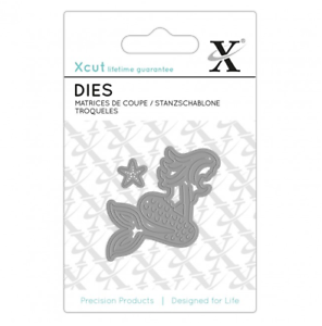 Xcut Docrafts - Mini MERMAID Metal Die Set