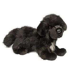 Bundy Newfoundland 13 Black Dog Stuffed Animal Plush Newfie Douglas