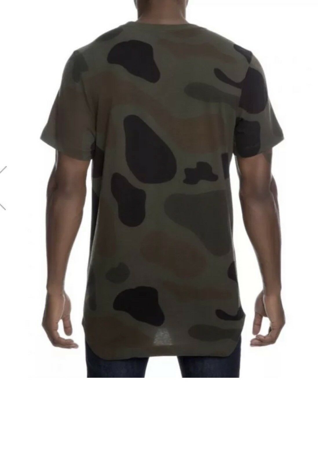 482d692e Nike Mens Alternate Hem Camo T Shirt Size XL Aa8672 325 Cargo/khaki ...