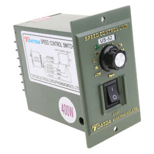 DC Motor Speed Control HHO PWM 50A  Max 8-30VDC Frequency Adjust 400Hz to 3kH