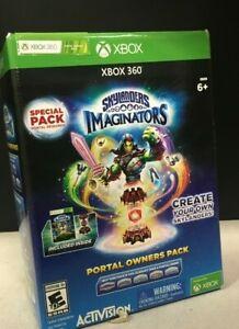 Skylanders-Imaginators-Portal-Owners-Pack-Microsoft-Xbox-360-OPEN-BOX-READ