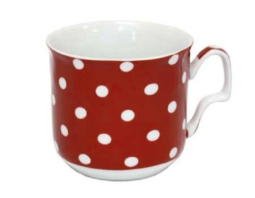 """Keramik-Tasse Becher Kaffeebecher ca 300 ml /""""PUNKTE/"""" von GELA24"""