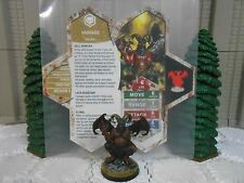 Heroscape Custom Vassago Double Sided Card & Figures w/ Sleeve Valkrill
