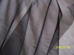 Ancien-tulle-noir-vendu-au-metre-Vintage-Annees-60-70-N-2