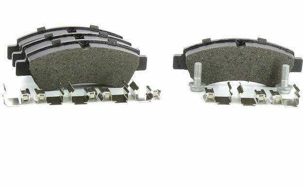 4x Bremsbeläge Bremsbelagsatz Vorne Citroen