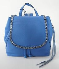 New Authentic REBECCA MINKOFF *SMALL BRYN* Blue Genuine Leather BACKPACK