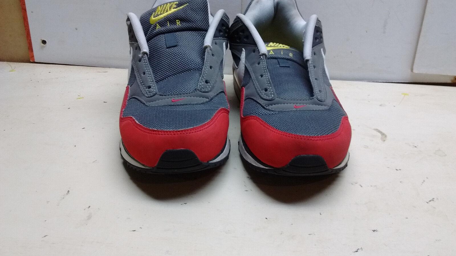 Nike Air Max 2012 Men ROT Gray Sneaker Athletic Running Hiking Hiking Running Sports Schuhe 10 M 0cfc17