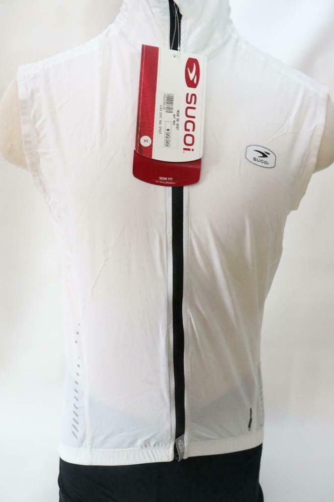 New Sugoi Men's  RS Small Road Bike Cycling Vest White Lightweight  100  all in high quality and low price