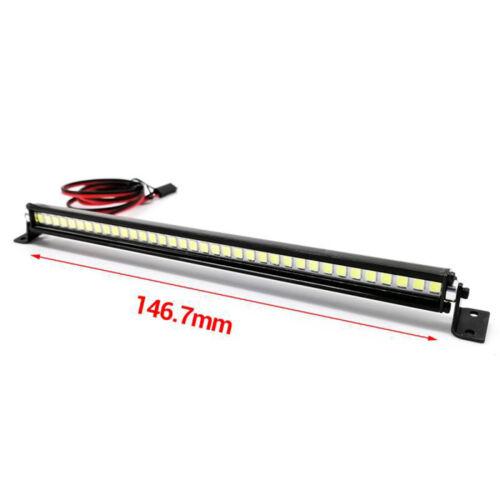 Roof Spotlight LED Light Bar for 1//10 TRAXXAS Wrangler Cherokee RC Crawler Model