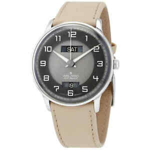Junghans-Meister-Driver-Automatic-Grey-Dial-Men-039-s-Watch-027-4721-01