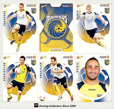 2007-08 Select A League Soccer Base Team Set Central Coast Mariners 16