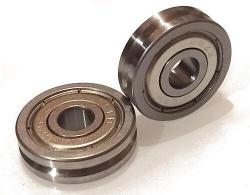 STAMPANTE 3D V626ZZ CUSCINETTO Scanalato 6 mm ALBERO-CNC Reprap Prusa Mendel 626