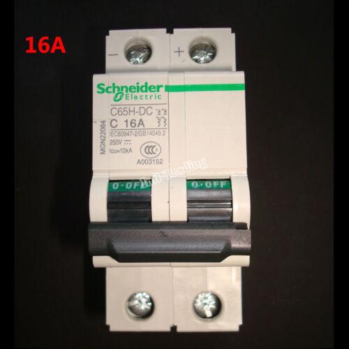 16A 32A 63A Miniature C65H-DC Circuit Breaker 2P 250V DC Air Switch
