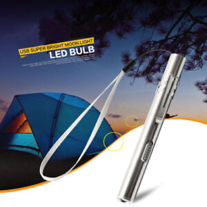 Lamp-Light-Pocket-Flashlight-Torch-LED-Pen-Size-Q5-USB-Rechargeable-500lm