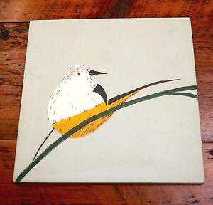 Image Is Loading West Elm Genna Orkin Tropical Bird Colorful Ceramic