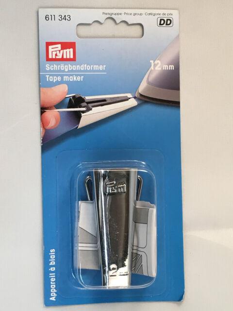 1 piece PRYM 611344 Tape maker//Bias binding maker Size 25mm folded with