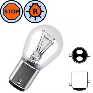 Lampadina 12v 18 5w Bay15d Moto Auto Lampeggiante Lampada Luce Freno Posteriore Ebay