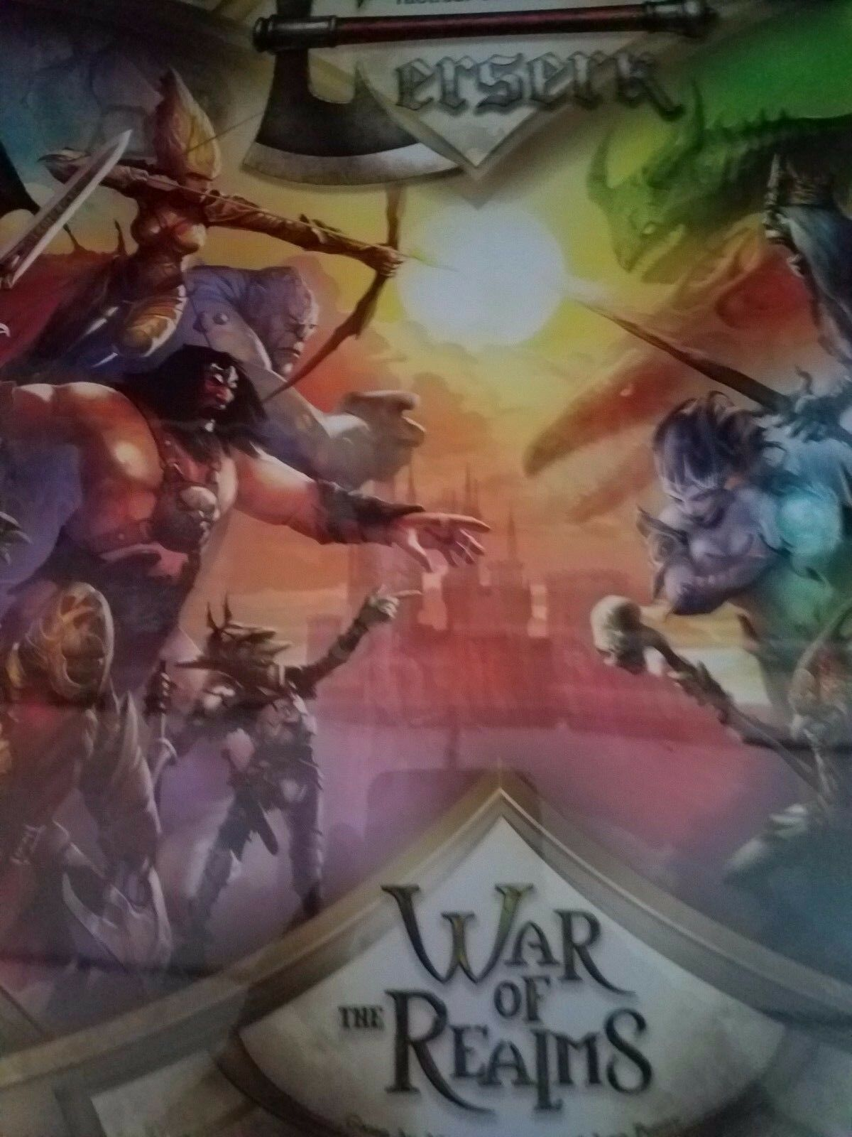 Berserk War of The Realms - PSI Games Board Game Nuovo