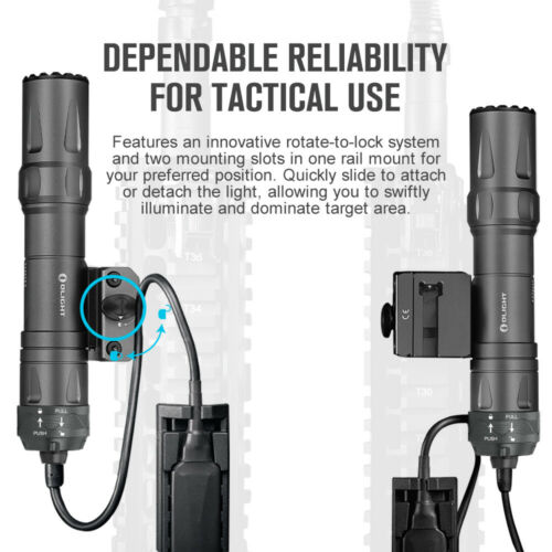Details about  /OLIGHT Odin Torch LED 2000 Lumens Flashlight Gunlight Magnetic Charge Tactical