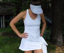 Lululemon Tennis Dress Ace White Nylon/Lycra Sleeveless Size 2 New NWT