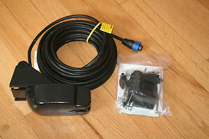 Details about Airmar Lowrance & Simrad P66-BL 600W Transom Mount Transducer  w/Blue 7 Pin Plug