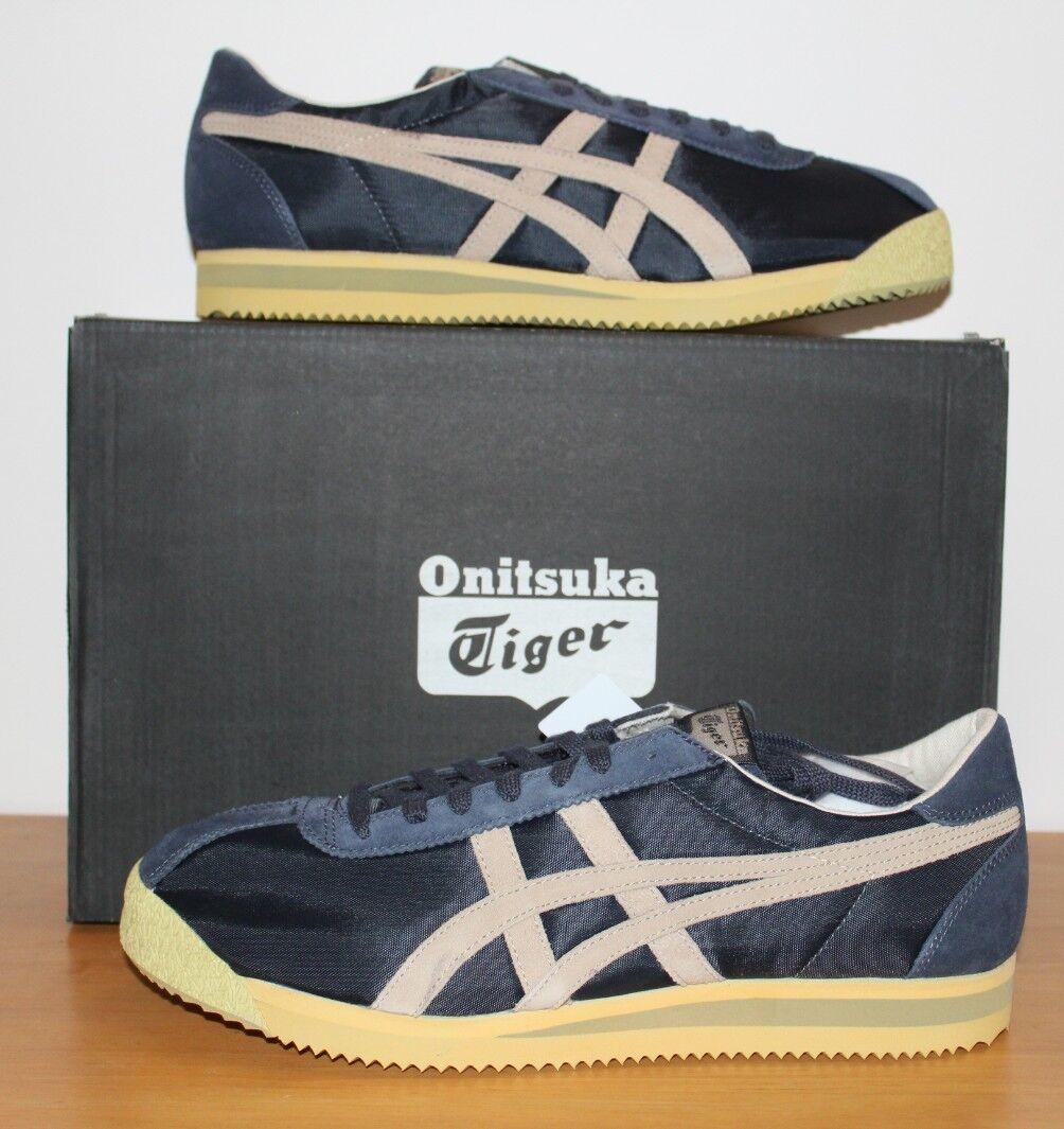asics onitsuka tiger Corsair Vin India Ink/Latte D7C25805 Wild casual shoes