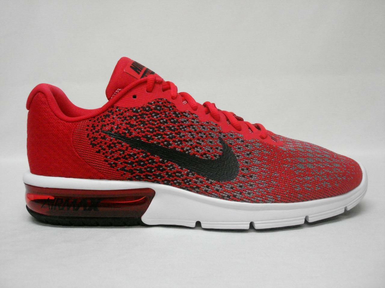 Cheap women's shoes women's shoes NIB NIKE AIR MAX SEQUENT 2 MEN'S SHOE'S 11 RED/BLACK~AWESOME LOOKING SHOE'S