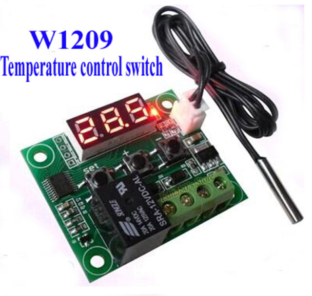 New DC 12V Automatic Digital Temperature Controller Thermostat Control Switch