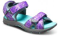 Merrell Older Girls Surf Strap 2.0 Sandal Purple Print Youth Size 7 M