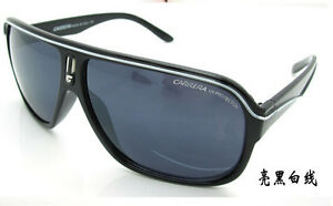 4878bae04882 Fashion Men & Women's Retro Sunglasses Unisex Matte Frame Carrera ...