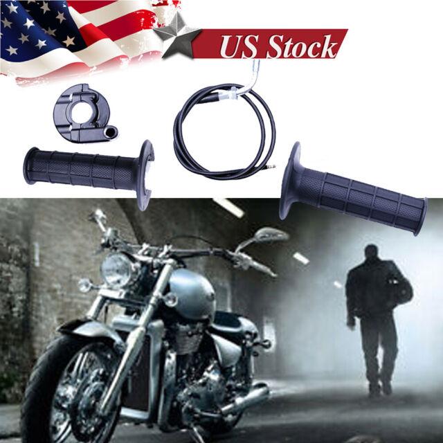Cable for Dirt Bike Quad ATV Pit 50cc-125cc-150-250 Twist Throttle Handle Grip