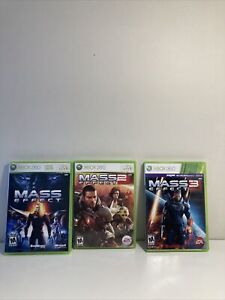 Mass Effect, Mass Effect 2, and Mass Effect 3 - Complete Trilogy (Xbox 360)