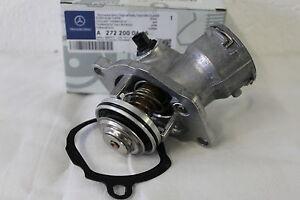 Genuine-Mercedes-Benz-OM272-Petrol-Engine-Thermostat-A2722000415-NEW